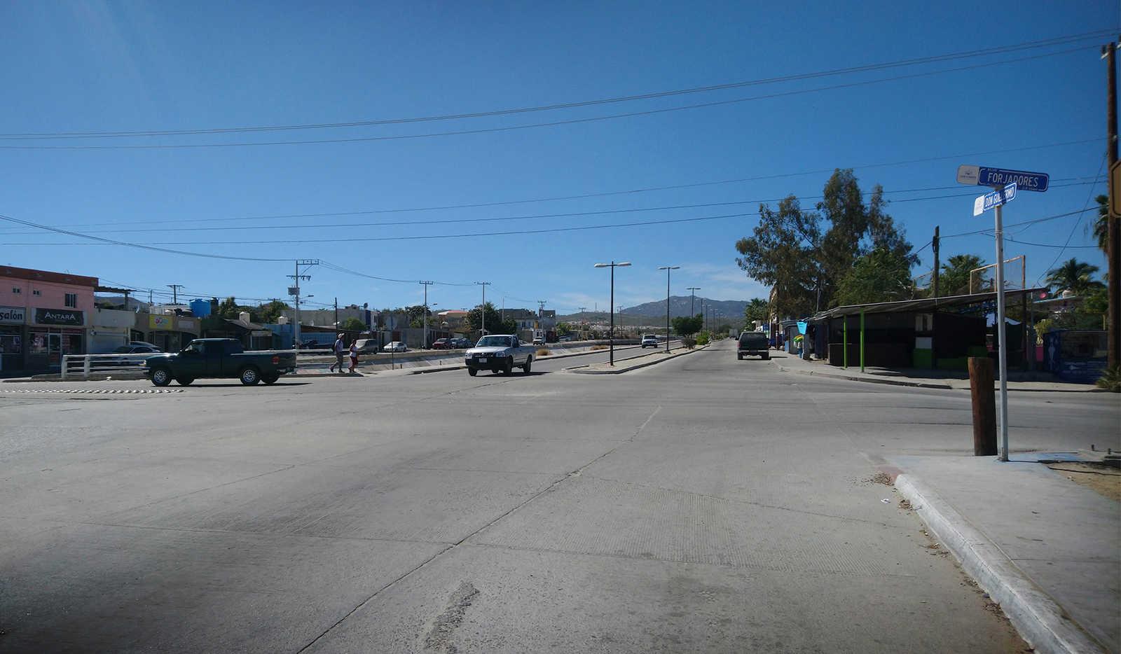 Street, sun