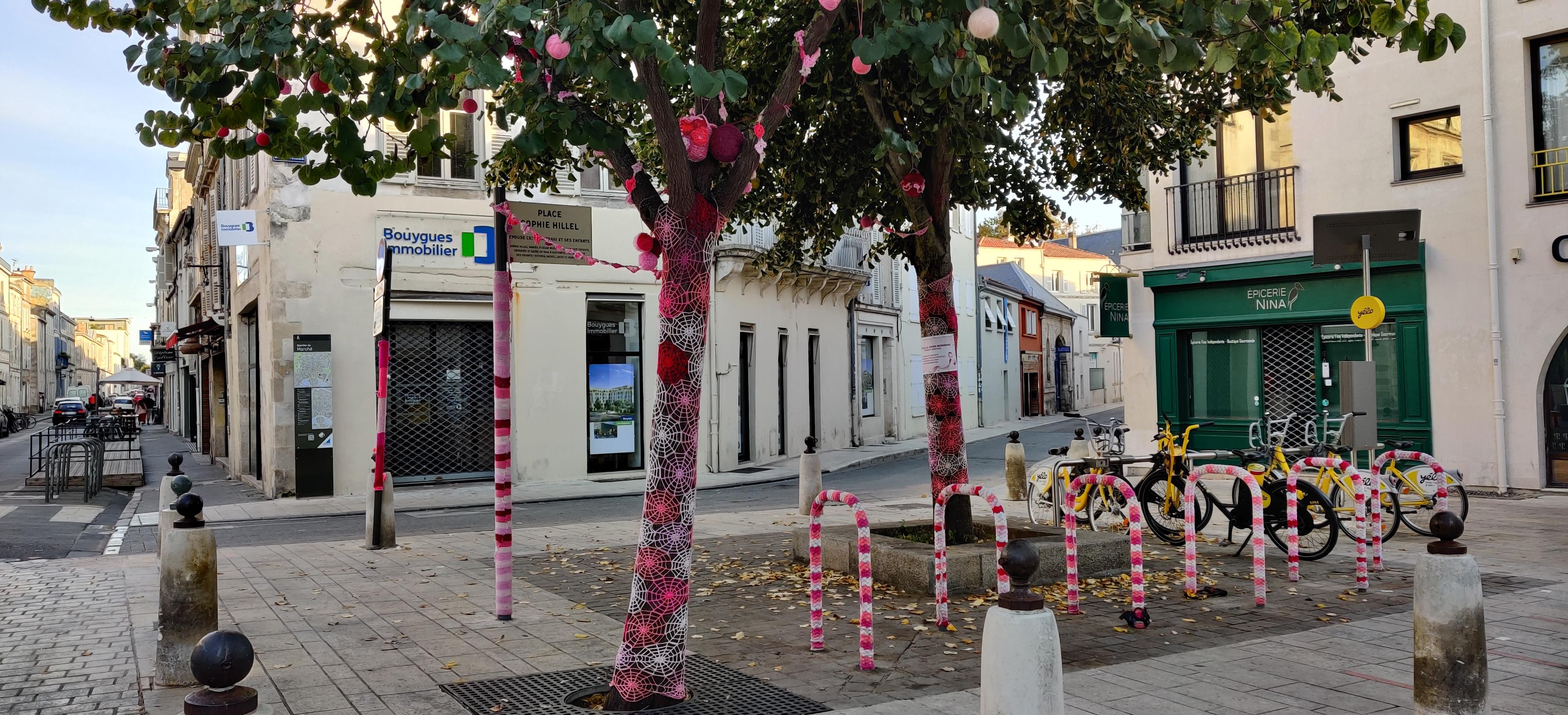 Tricotgraffiti La Rochelle Marchée